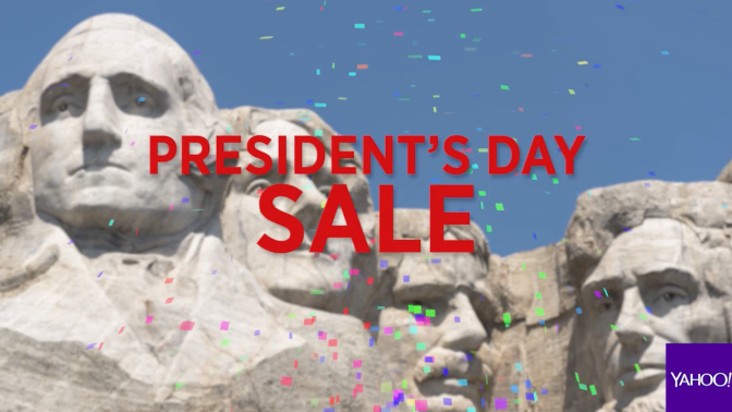 Don't miss these four Presidents' Day deals