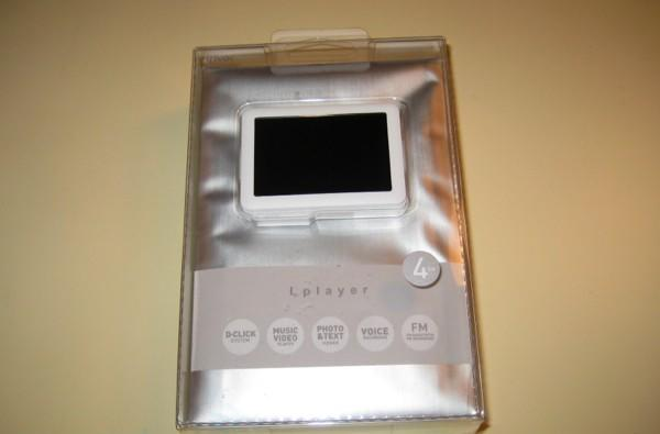 iriver Lplayer hands-on and unboxing