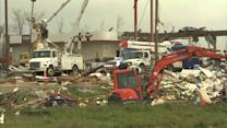 DOZENS KILLED BY TORNADOES