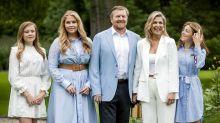 Niederländische Königsfamilie: Pandemie nicht einfach