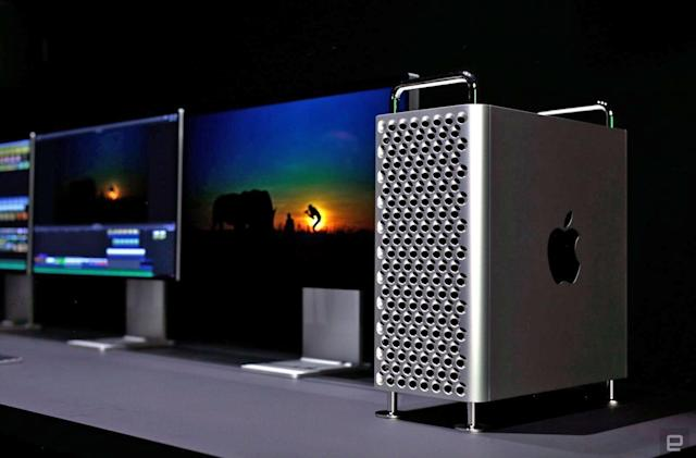 Apple's revamped Mac Pro uses new Radeon Pro Vega II GPUs