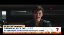Shawn Mendes performing on Sunrise tomorrow