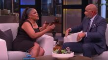 Mo'Nique says she's 'ready to punch' Steve Harvey in the mouth during a heated exchange