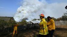 Ventos fortes na Austrália geram 'megaincêndio'