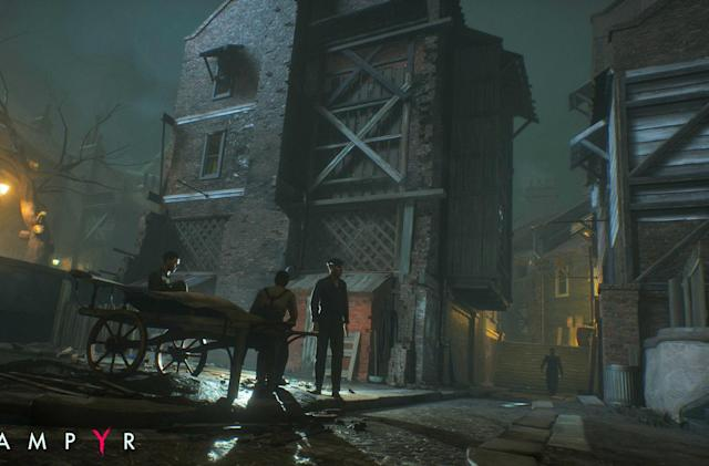 Take a peek at 'Life is Strange' studio's next game, 'Vampyr'