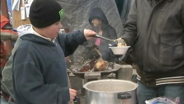 Boy Battling Cancer Visits Homeless for Dying Wish