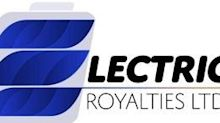 Electric Royalties Closes Acquisition of Bissett Creek Graphite Royalty