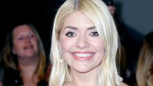Holly Willoughby marks Valentine's Day in £29.50 dress from M&S