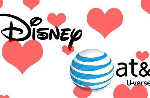 Disney and AT&T's U-verse renew vows, expand the relationship and bring back ESPN 3D