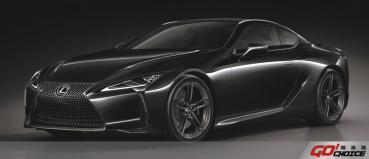 黑色旋風來襲 Lexus 旗艦GT跑車 LC Limited Edition