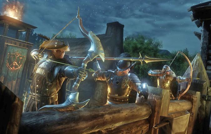 A still from Amazon's Lumberyard video game.