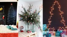 17 Alternative Christmas Trees (That You Can Make Yourself)