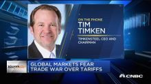 TimkenSteel CEO: Trade war fears tend to be overblown