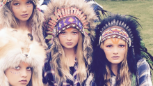 Janet Gretzky slammed for 'disrespectful' headdress photo