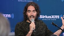 Russell Brand's about to become a dad again