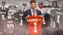 From Manziel to Mahomes: Ranking this decade's first-round quarterbacks