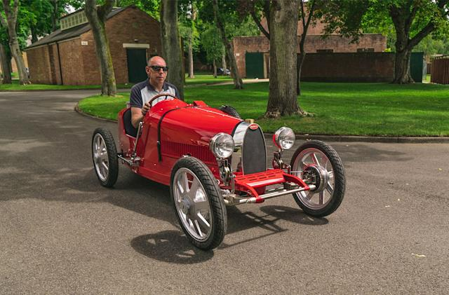 Bugatti's first EV in decades is a $35,000 'toy' car