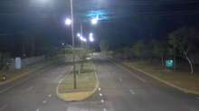 Police Camera Captures Fireball Streaking Across Northern Territory Sky