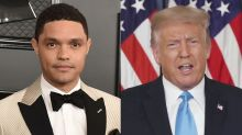 Trevor Noah taunts President Trump with mock legal ads in New York Times, Washington Post