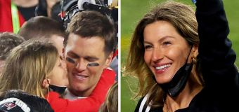 Brady's beautiful family moment after Super Bowl