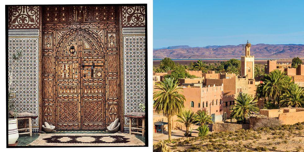 """<p><strong>Why for 2019</strong>: Known as the gateway to the Sahara, Ouarzazate is a city south of Morocco's beautiful Atlas Mountains and home to the impressive fortified village of Ait Ben Haddou where you can head to the ancient Kasbah to watch the spectacular sunrises and sunsets. </p><p><strong>Insider's tip</strong>: <a href=""""https://www.booking.com/"""" rel=""""nofollow noopener"""" target=""""_blank"""" data-ylk=""""slk:Booking.com"""" class=""""link rapid-noclick-resp"""">Booking.com </a>recommends visitors quad bike along the dusty roads to explore the region. </p><p>No trip is complete without a stay at the <a href=""""https://www.booking.com/hotel/ma/ha-tel-riad-ouarzazate.en-gb.html"""" rel=""""nofollow noopener"""" target=""""_blank"""" data-ylk=""""slk:Riad Ouarzazate"""" class=""""link rapid-noclick-resp"""">Riad Ouarzazate</a> - a Kasbah style riad located in the centre of Ouarzazate and offering stylish rooms with traditional Moroccan décor and an outdoor terrace where guests can enjoy the traditional cuisine.</p><p><strong>Best time to travel (in terms of weather and cheapest flights)</strong>: March, April, May, October and November as the months have the perfect temperature for exploring the region.</p>"""