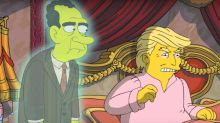 The Simpsons rib President Trump's time in office again