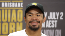 Manny Pacquiao says Conor McGregor won't land 'a meaningful punch' in mega-fight against Floyd Mayweather