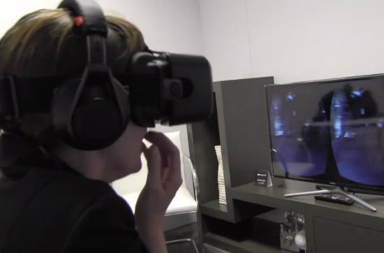 You can't cover your eyes in Oculus Rift, a study of Alien: Isolation