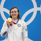 Katie Ledecky finally wins gold in Tokyo and makes history in the process