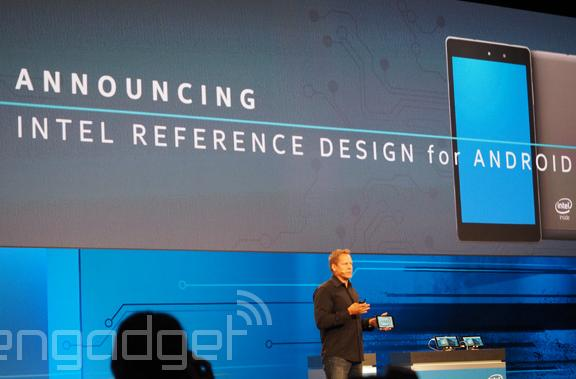 Intel's building a reference tablet for Android developers
