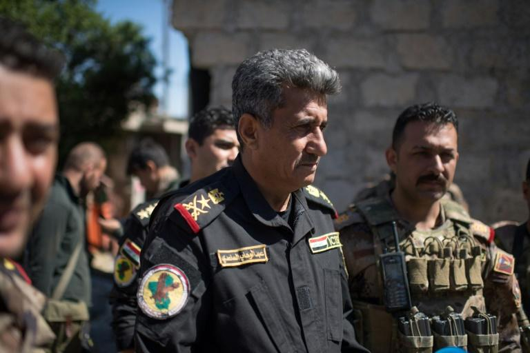 Staff Lieutenant General Abdulwahab al-Saadi helped lead Iraq's Counter-Terrorism Service to recapture a string of cities from the Islamic State group