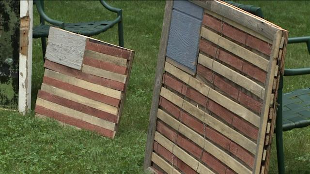 Storm Debris Turned Into Art For Charity