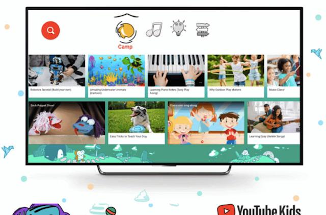 YouTube brings summer camp home to kids