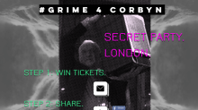 Grime artists to put on a secret rave in support of Jeremy Corbyn
