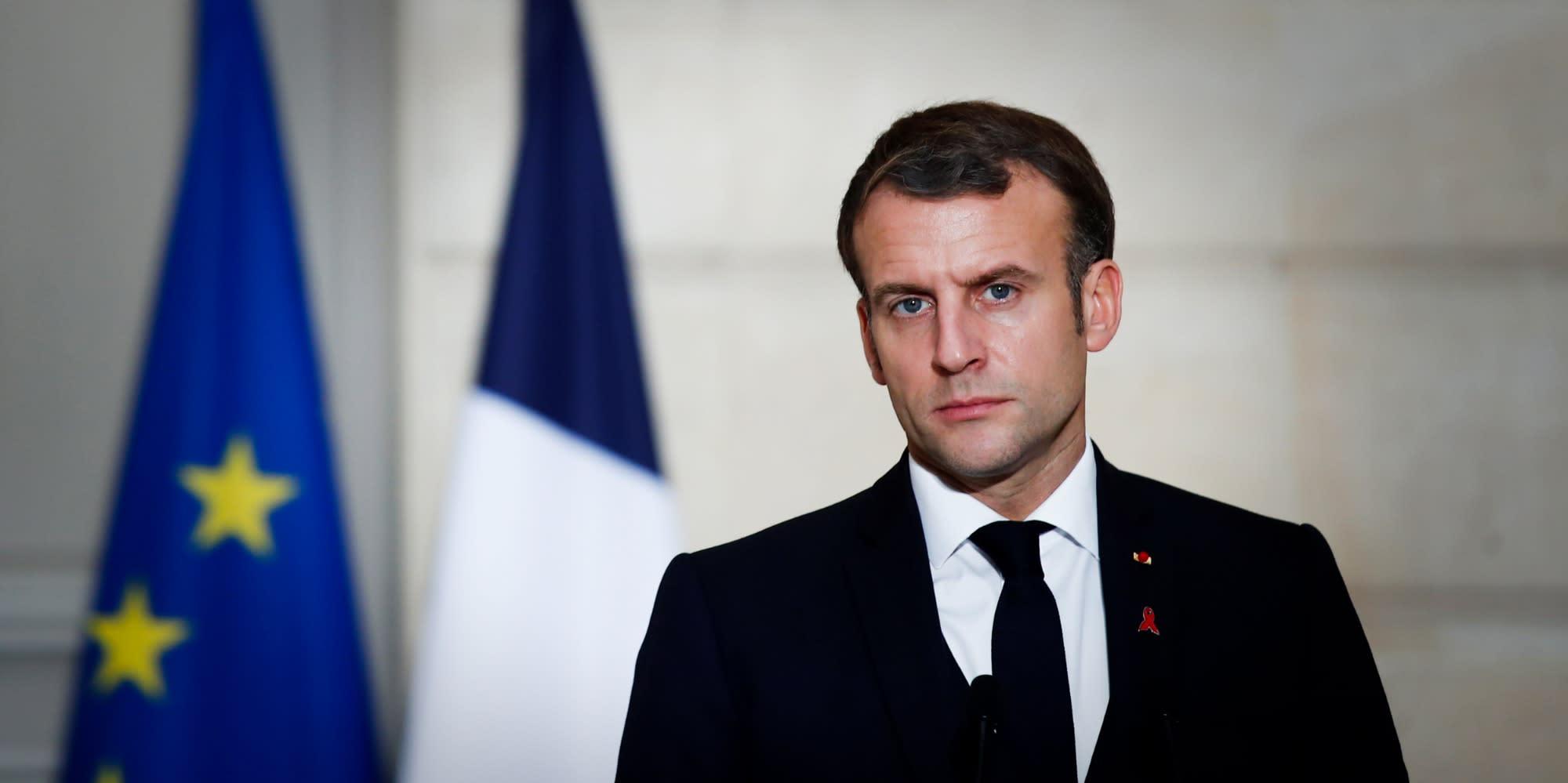"""Covid : la France est devenue """"une nation de 66 millions de procureurs"""", selon Macron"""