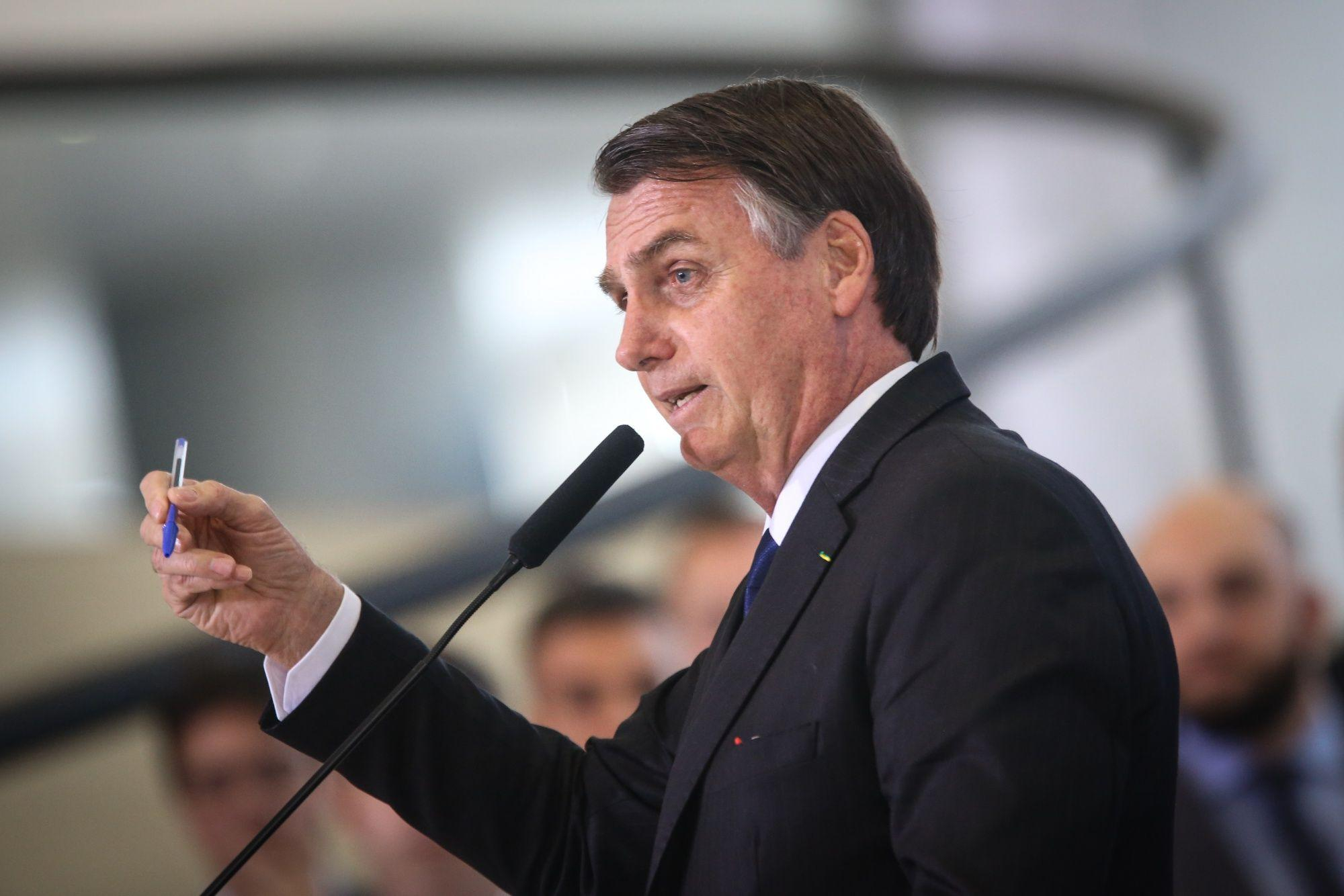 Bolsonaro says claims of hunger in Brazil `a big lie`
