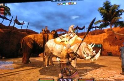 GDC08: A preview of Age of Conan's wild and wooly mounted combat