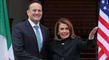 Nancy Pelosi: 'US Congress stands with Ireland on Brexit'