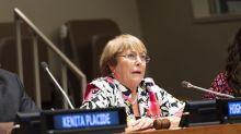 ONU: duro informe de Bachelet sobre la represión en las protestas en Chile