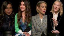 'Ocean's 8' cast say the abundance of white male film critics is 'unfair' (exclusive)
