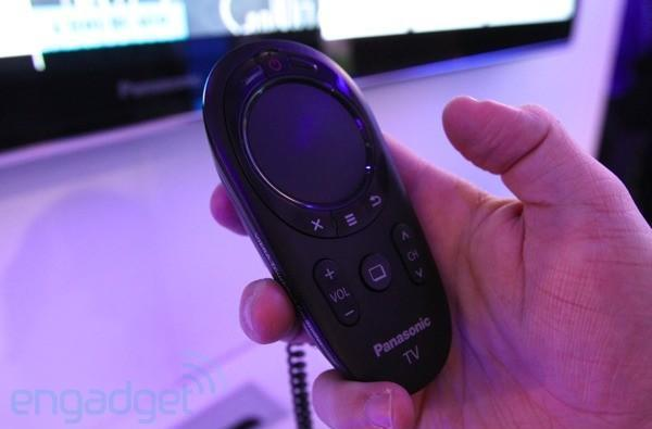 Panasonic Viera touchpad controller prototype hands-on (video)