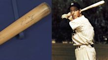 Joe DiMaggio game-used bat bought for $147 now worth $100,000
