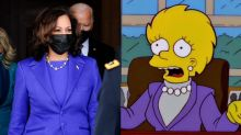 'The Simpsons' fans think Lisa Simpson predicted Kamala Harris's inauguration outfit