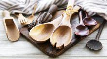 Renove a cozinha com utensílios de bambu com desconto