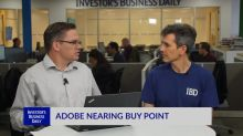 ADBE Nearing Buy Point