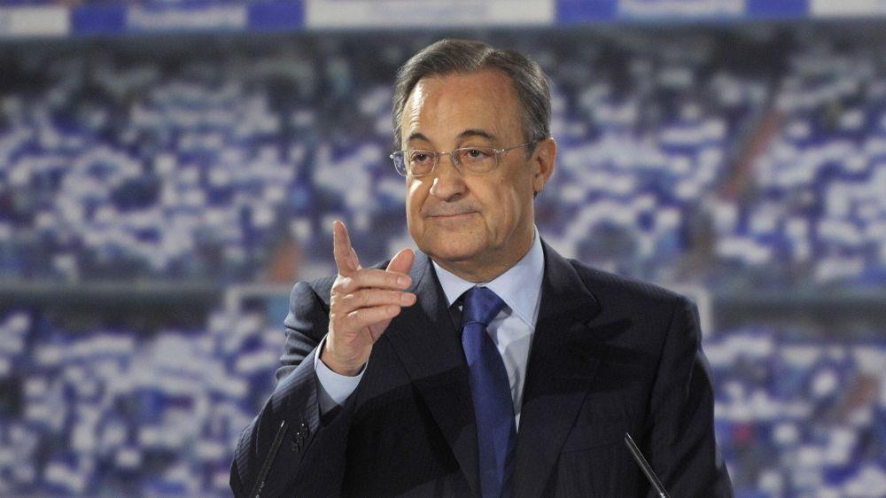 """Florentino Pérez: """"El Real Madrid no se rinde nunca"""""""