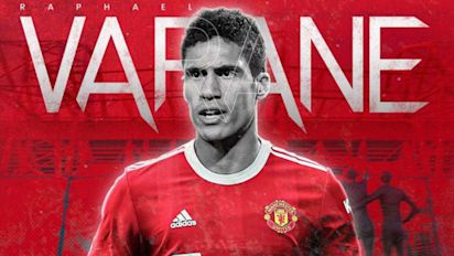 Varane ya es jugador del Manchester United