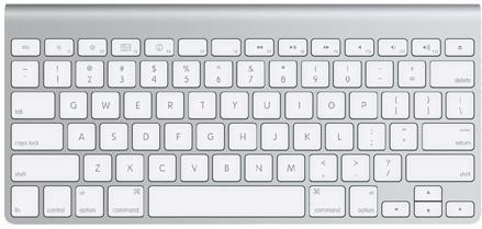 Apple's new wireless keyboard not shipping for 3-5 weeks