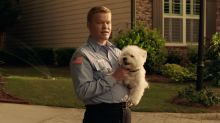 Meet Jesse Plemons's lovable, dog-holding 'creep' in 'Game Night' (exclusive)