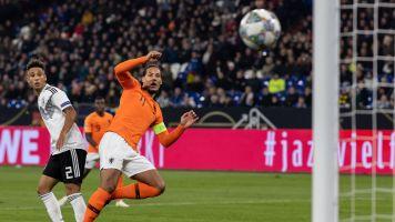 After equalizer, van Dijk consoles grieving referee